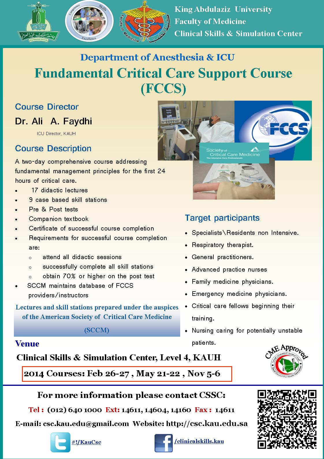 Clinical Skills Center Courses And Workshops